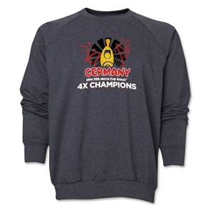 Germany 2014 FIFA World Cup Brazil(TM) Champions Official Look Trophy Crewneck Fleece (Grey)