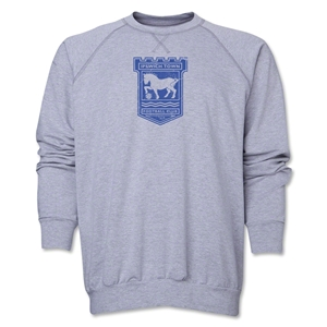 Ipswich Town Distressed Crewneck Fleece (Gray)