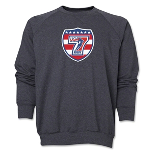 USA Sevens Rugby Crewneck Fleece (Dark Gray)