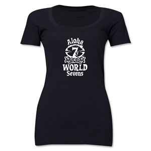 Aloha World Sevens Women's Scoop Neck T-Shirt