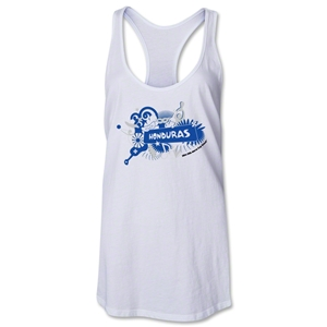 Honduras 2014 FIFA World Cup Brazil(TM) Celebration Racerback Tank Top (White)