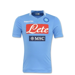 Napoli 13/14 Youth Home Soccer Jersey