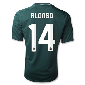 Real Madrid 12/13 ALONSO Third Soccer Jersey