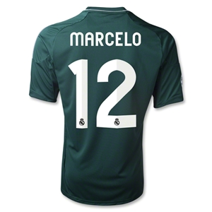 Real Madrid 12/13 MARCELO Third Soccer Jersey