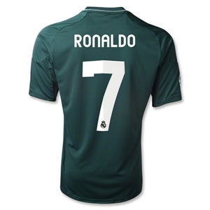 Real Madrid 12/13 RONALDO Third Soccer Jersey