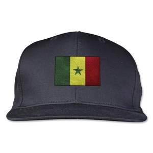 Senegal Flatbill Cap (Black)