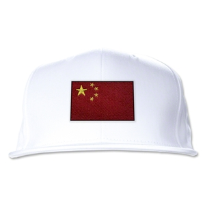 China Flatbill Cap (White)