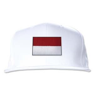 Indonesia Flatbill Cap (White)