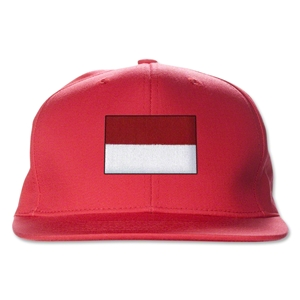Indonesia Flatbill Cap (Red)