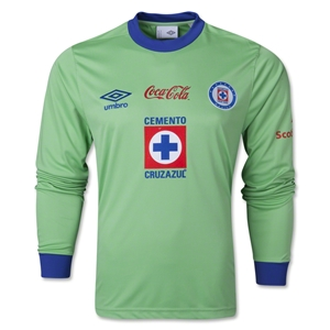 Cruz Azul 13/14 LS Goalkeeper Jersey