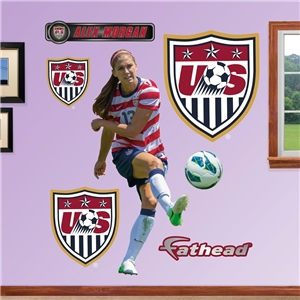 USA Morgan Shot on Goal Wall Fathead