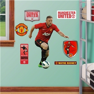 Manchester United Rooney Junior Wall Fathead