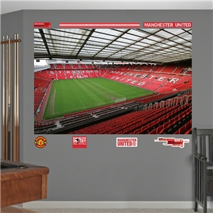 Manchester United Old Trafford Mural Fathead