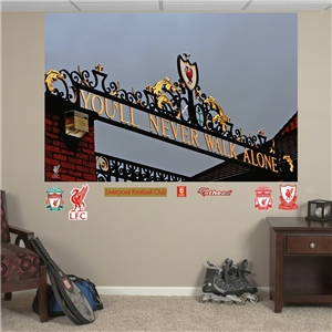 Liverpool Never Walk Alone Mural Fathead
