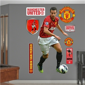 Manchester United v. Persie Wall Fathead 12/13