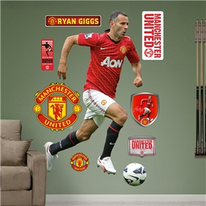 Manchester United Giggs Wall Fathead