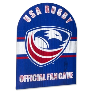 USA Rugby Fan Sign