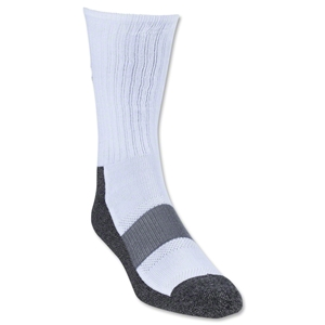 Under Armour HeatGear Performance Crew Sock (White)