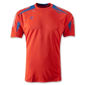 adidas F50 adizero Training Jersey (Neon Orange)