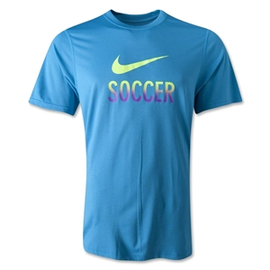 Nike Legend Soccer T-Shirt (Blue)