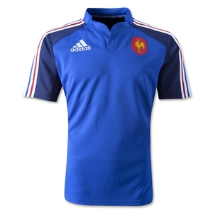 France 12/13 Training SS Rugby Jersey