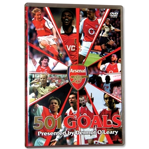 Arsenal 501 Goals Soccer DVD