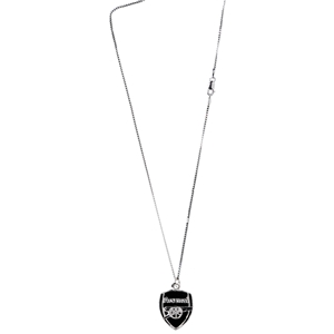 Arsenal Crest Silver Chain
