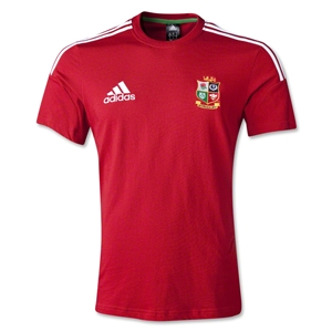 British and Irish Lions 2013 Cotton T-Shirt (Red)