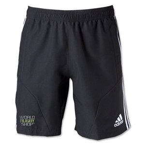 adidas World Rugby Shop Tiro 13 Woven Short (Blk/Wht)