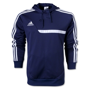 adidas Tiro 13 Hoody Top (Navy/White)