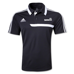 adidas Serevi Tiro 13 CL Polo (Black)