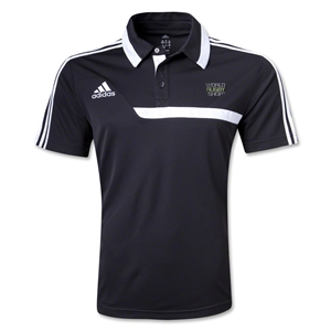 adidas World Rugby Shop Tiro 13 CL Polo (Black)