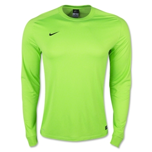 Nike Long Sleeve Park Goalie II Jersey (Neon Green)