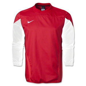 Nike Squad 14 Long Sleeve Shell Top (Red)