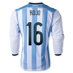 Argentina 2014 ROJO LS Home Soccer Jersey
