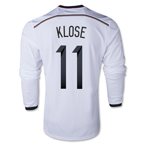 Germany 2014 KLOSE LS Home Soccer Jersey