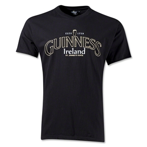 Guinness Black Claddagh T-Shirt
