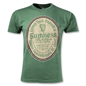 Guinness Green Gaelic Label T-Shirt