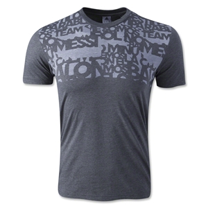 adidas F50 Messi T-Shirt (Dark Gray)