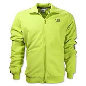 Umbro Taped Track Jacket (Lime)
