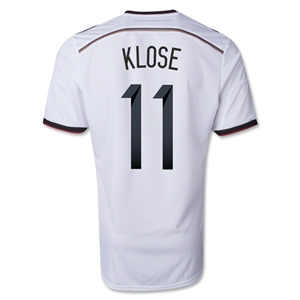 Germany 2014 KLOSE Authentic Home Soccer Jersey