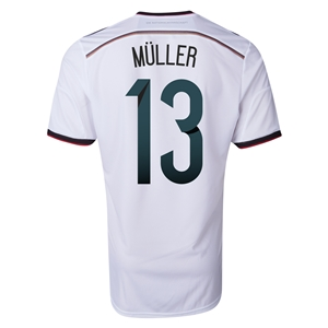 Germany 2014 MULLER Authentic Home Soccer Jersey