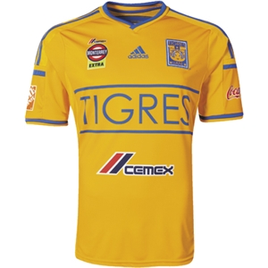 Tigres 2014 Home Soccer Jersey