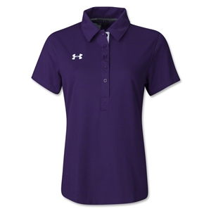 Under Armour Women's Coaches Polo II (Purple)