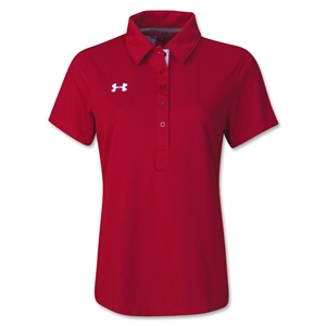 Under Armour Women's Coaches Polo II (Red)