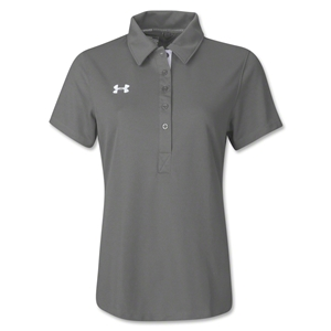 Under Armour Women's Coaches Polo II (Gray)