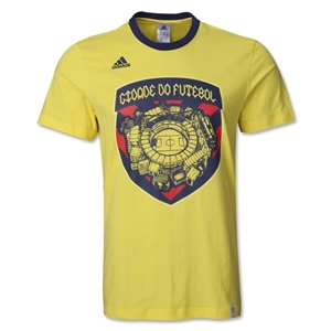 Brazil City Graphic T-Shirt (Yellow)