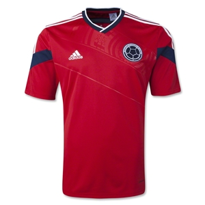 Colombia 2014 Away Soccer Jersey