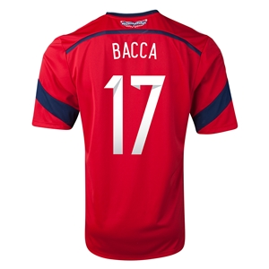 Colombia 2014 BACCA Away Soccer Jersey