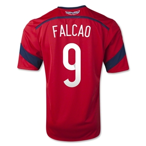 Colombia 2014 FALCAO Away Soccer Jersey